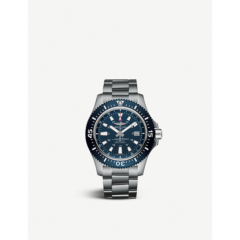 BREITLING | Y1739316|C959|162A Superocean 44 Special Stainless Steel Watch | Goxip