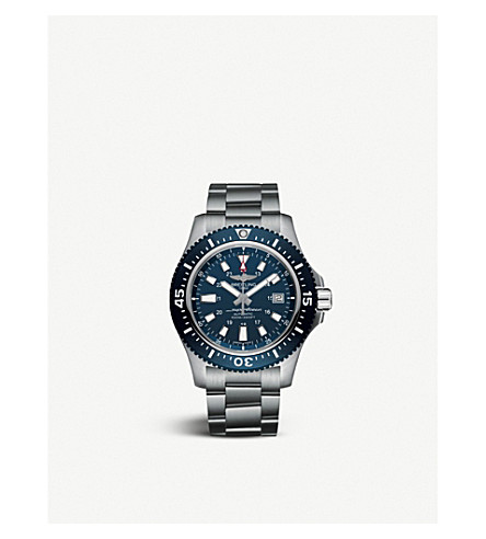 BREITLING Superocean 44 Special stainless steel watch
