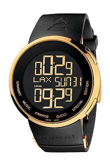GUCCI YA114215 I-Gucci Grammy black digital watch