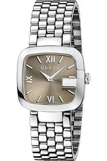 GUCCI YA125410 G-Gucci Collection stainless steel watch