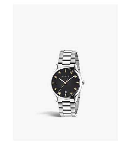 GUCCI YA1264029 G-永恒的不锈钢腕表