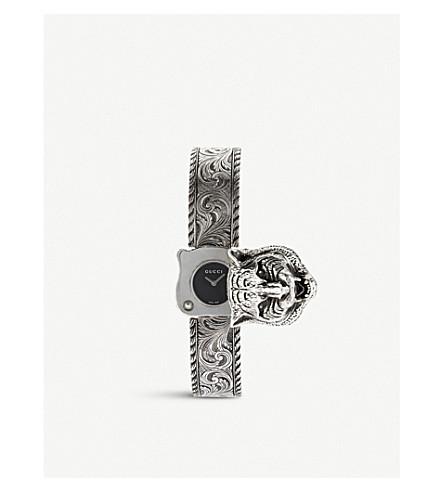 GUCCI YA146501 Le Marché des Merveilles stainless steel watch