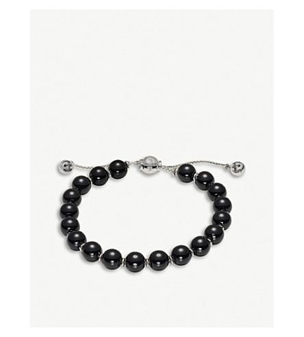 GUCCI Boule Britt sterling silver bracelet (Black