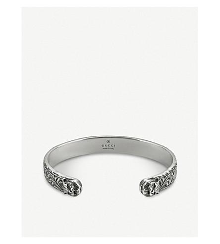 GUCCI Gatto silver bracelet