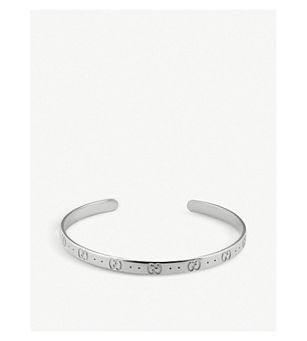 GUCCI Icon sterling silver bracelet