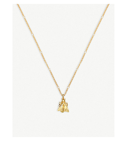 GUCCI Le marché des merveille 18ct gold necklace