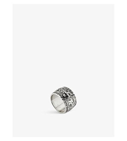 a3615690721f03 GUCCI - Gatto sterling silver ring