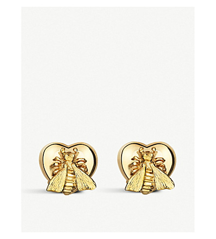 GUCCI Le marché des merveille 18ct gold earrings