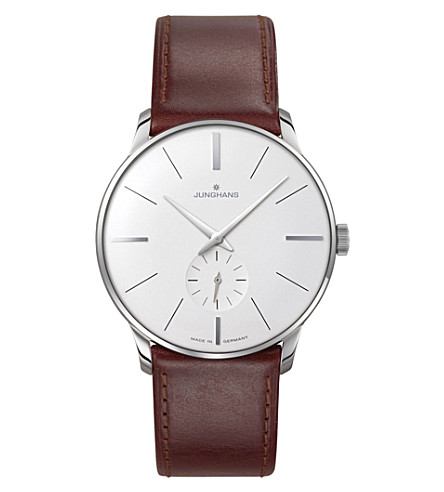 JUNGHANS Meister 027/3200.00 watch hand winding watch (Silver
