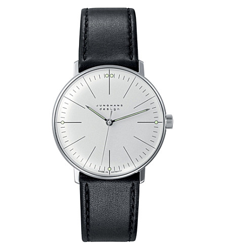 JUNGHANS Max bill 027/3700.00 hand-winding watch (Silver