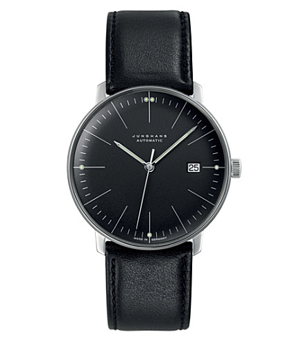 JUNGHANS Max bill automatic 027/4701.00 watch (Black