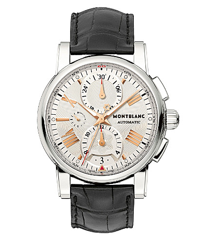MONTBLANC 105856 Star automatic watch (Steel