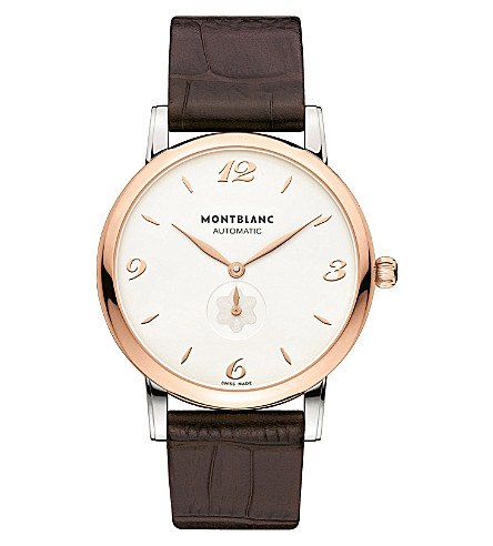 MONTBLANC 107309 Star stainless steel watch (Steel+&+rose+gold