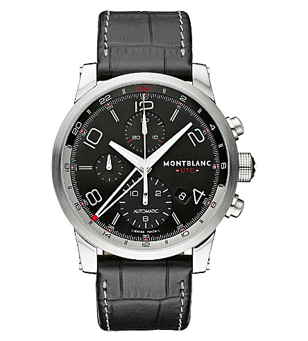 MONTBLANC 107336 TimeWalker chronograph watch (Steel