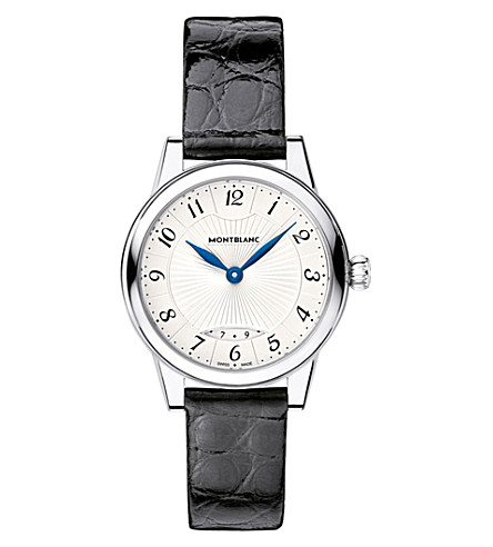 MONTBLANC Boheme date 111055 stainless steel watch (Silver