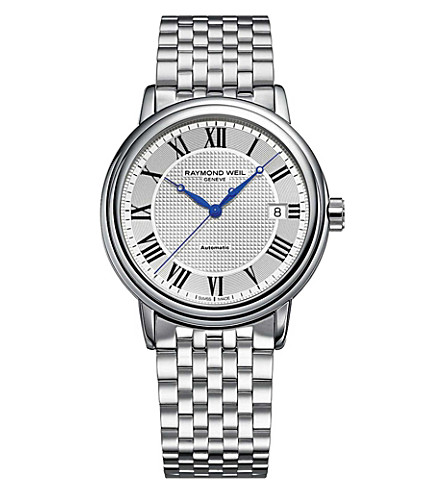 RAYMOND WEIL Maestro women's stainless steel bracelet watch