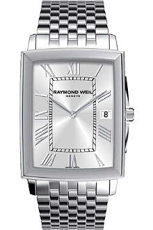 RAYMOND WEIL Tradition men's stainless steel bracelet watch