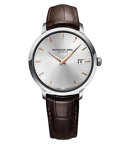 雷蒙威尔 5488-SL5-65001 托卡塔不锈钢表 (银色