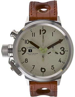 U-BOAT 6251 Flightdeck steel watch