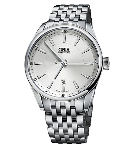 ORIS 73376424031MB Artix Date stainless steel watch