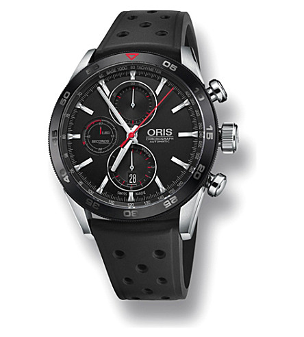 ORIS Artix GT stainless steel chronograph watch (Black
