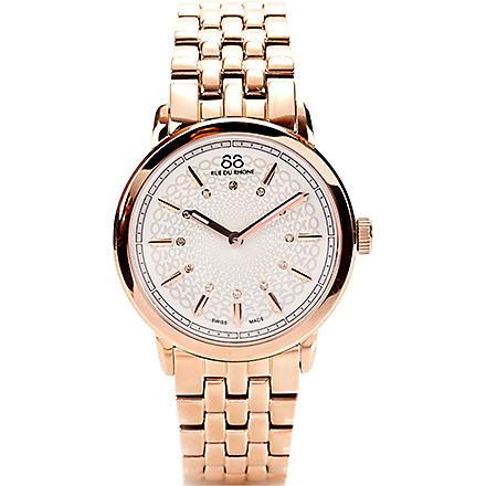 88 RUE DU RHONE 87WA120013 rose gold PVD watch (Rose+gold