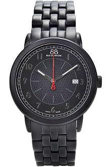 88 RUE DU RHONE Black dial bracelet watch 87wa120038