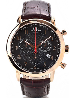 88 RUE DU RHONE 87WA120050 chronograph watch