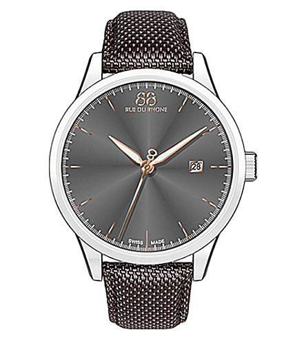 88 RUE DU RHONE 87WA154109 Double 8 Origin stainless steel watch