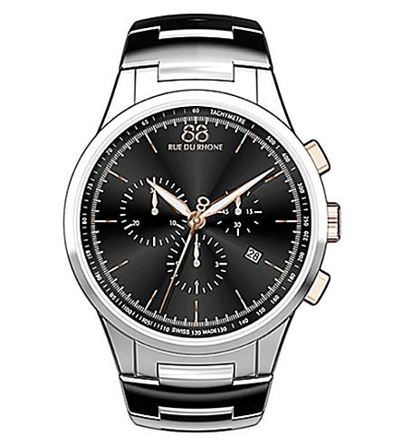 88 RUE DU RHONE 87WA154303 stainless steel bracelet watch