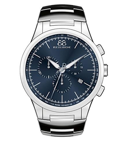 88 RUE DU RHONE 87WA154305 stainless steel bracelet watch