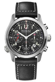 BREMONT ALT1-PBK07 Pilot stainless steel watch