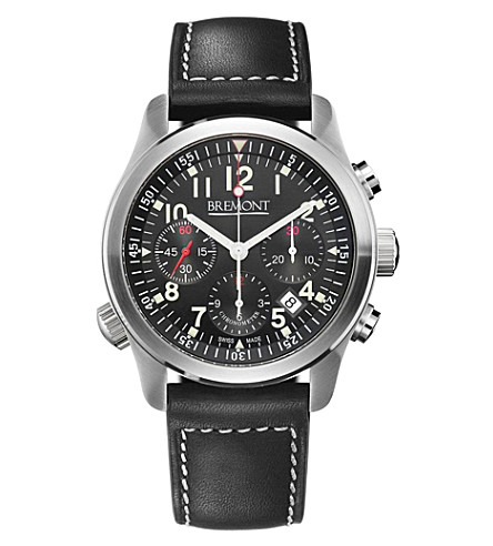 BREMONT ALT1-PBK07 Pilot stainless steel watch (Steel
