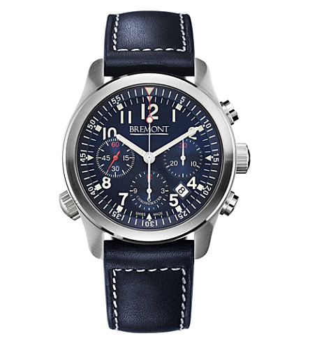 BREMONT ALT1-PBU07 Pilot stainless steel watch (Steel