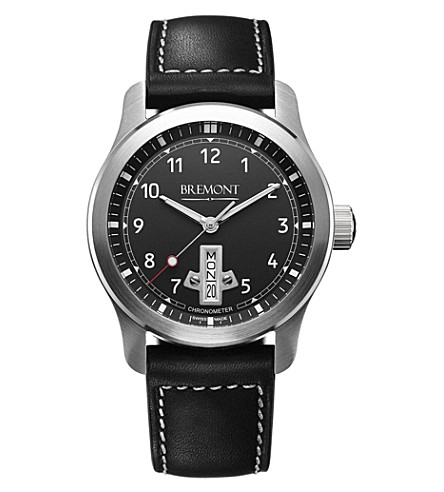 BREMONT BC-F1BK07 stainless steel watch (Steel