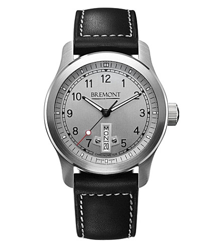 BREMONT BC-F1SI07 stainless steel watch (Steel