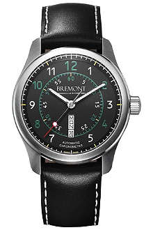 BREMONT BC-S2BG08 stainless steel watch