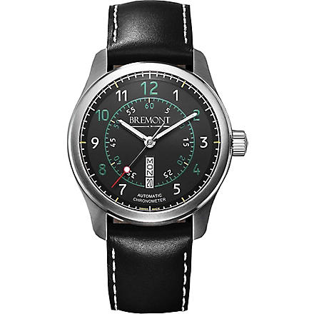 BREMONT BC-S2BG08 stainless steel watch (Steel