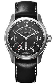 BREMONT BC-S2BK08 stainless steel watch