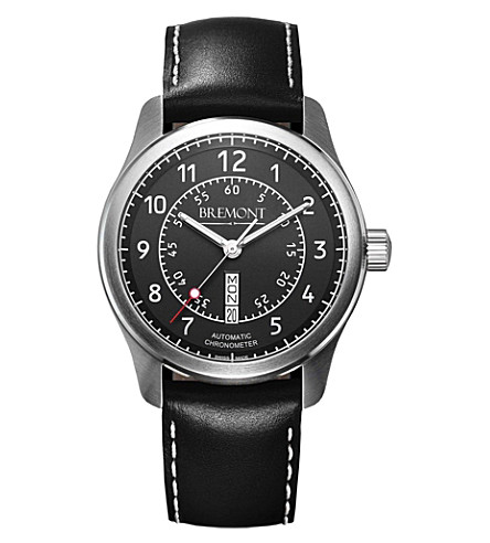 BREMONT BC-S2BK08 stainless steel watch (Steel