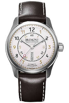 BREMONT BC-S2WH08 stainless steel watch
