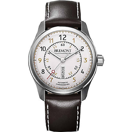 BREMONT BC-S2WH08 stainless steel watch (Steel