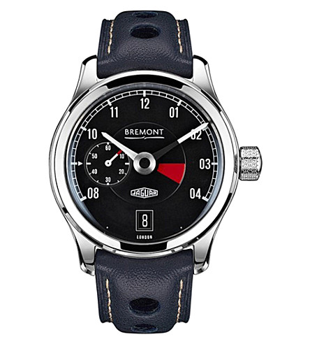 BREMONT Jaguar MKI chronograph watch (Black