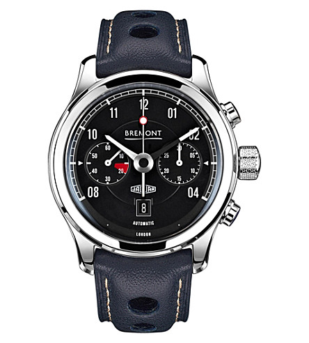 BREMONT Jaguar MKII chronograph watch (Black