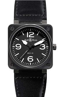 BELL & ROSS BR0192-BL-CA Aviation steel watch