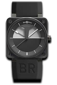 BELL & ROSS BR01 Horizon black PVD watch