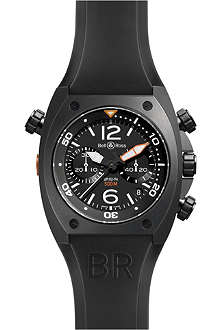 BELL & ROSS BR02CHRONOCA PVD watch