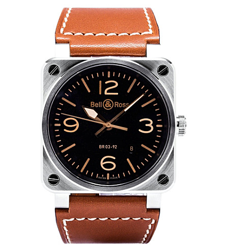 BELL & ROSS BR0392 Golden Heritage watch