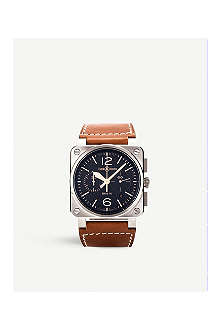BELL & ROSS BRO394 Golden Heritage watch