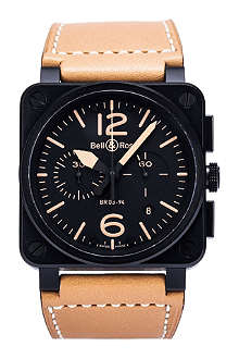 BELL & ROSS BR0394-heritage Aviation watch